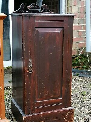 Find Many Great New Used Options And Get The Best Deals For Edwardian Pot Cupboard Bedside Cabinet At The In 2020 Bedside Cabinet Glass Cabinets Display Cupboard