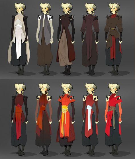 Art of Olivia Margraf-Posta — Costuming for Kender, my Tiefling warlock.