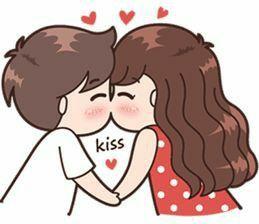 Dulces Besos Para Un Amigo Especial Dibujos De Parejas