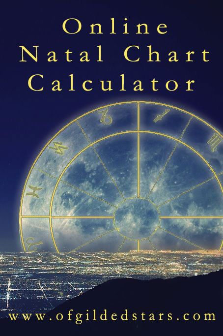 Create Your Own Natal Chart With Images Natal Charts Birth Chart Astrology Chart