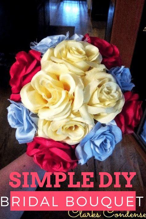 DIY Bouquet / DIY Wedding Bouquet / DIY WEdding Ideas / DIY Wedding Flowers #wedding #diywedding #weddingideas #weddingtips #weddingflowers #floraldesign