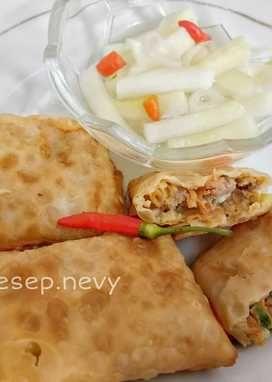 Resep 2 Martabak Telur Mini Oleh Nevy Pratiwi Resep Makanan Dan Minuman Telur Makanan