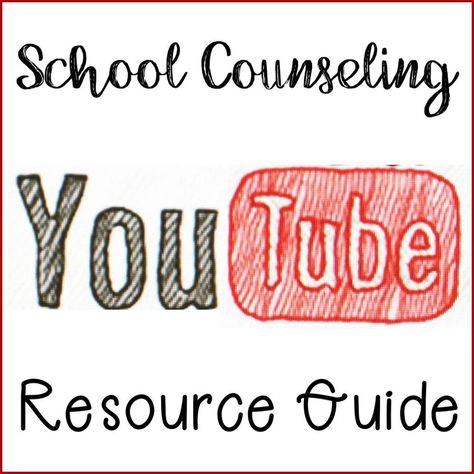 As you know kiddos love videos and incorporating some short, fun clips into your guidance lessons can be a great visual aid when teaching a key character word or lesson. When I am planning for a lesson I have an idea in my head of a video I want to show b School Counseling Office, Elementary School Counselor, School Social Work, Career Counseling, School Counselor Organization, Elementary Schools, School Counselor Lessons, Counseling Activities, Therapy Activities