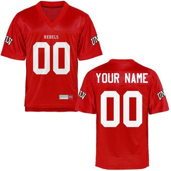 cheaper 1a4af 7a643 UNLV Rebels Personalized Football Name & Number Jersey ...