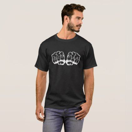 #customize - #White on Black Hold Fast T-Shirt