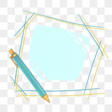 رسوم متحركة قلم رصاص التعلم إطار وسام رسم رصاص رسم مرسومة باليد Png وملف Psd للتحميل مجانا Frame Decor Frame Learning