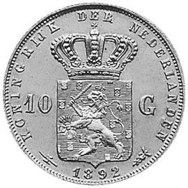 Nederland 10 Gulden 1892 Wilhelmina World Coins Coin Values Coin Prices