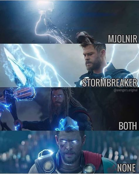 "CHRIS HEMSWORTH on Instagram: ""Which Thor you like the most? - Credit:-@avengers.original . . . . . @chrishemsworth @elsapatakyconfidential #elsapataky #cutecouple…�"