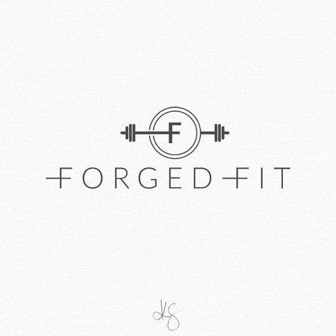 For purchase | Fitness logo design by: Kelcie Saunders | etsy.me/2aJcxC2  #2ajcxc2 #design #fitness #fitnesslogo #kelcie #purchase #saunders