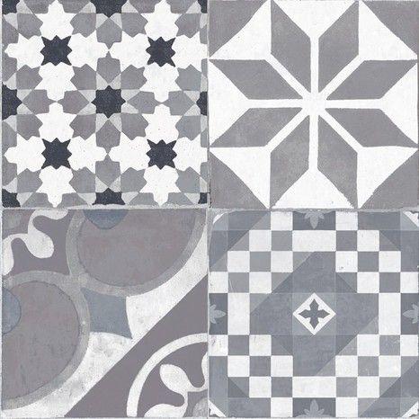 Gres Cerame Emaille 45x45 Cm Ep 8 5 Mm Brico Depot Pour Le Sol De La Buanderie Carrelage Carrelage Ceramique Carreaux Ciment