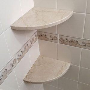 About Goshelf Stone Corner Shower Shelf That S Easy To Install