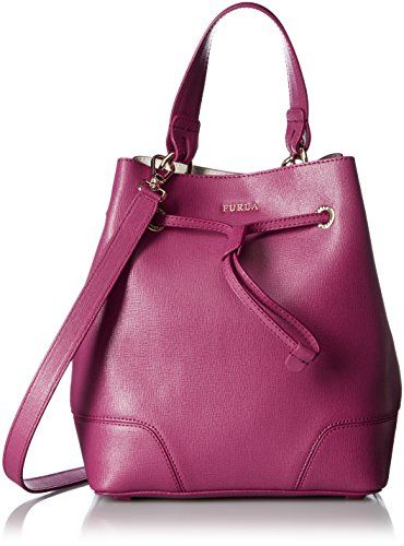 2723bf7dbf5e Furla Stacy Small Leather Bucket Bag Furla https   www.amazon .com dp B01I4PP9O4 ref cm sw r pi dp x 1pGHybWW6W6BE