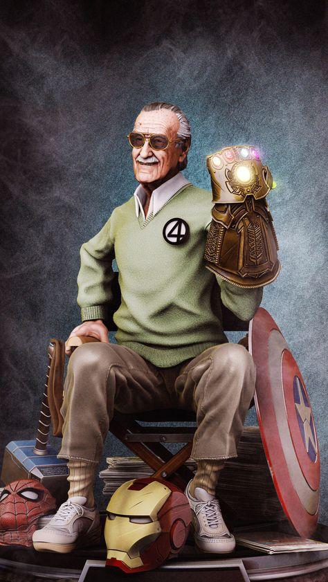 ¿Cuáles son los personajes más importantes que creó Stan Lee?