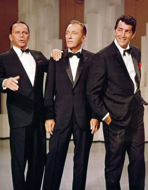 francisalbertsinatra: Frank Sinatra, Bing Crosby, and Dean Martin on The Bing Crosby Show, 1964