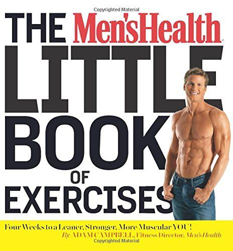 The Men S Health Little Book Of Exercises Pdf Mens Health Little Books Exercise