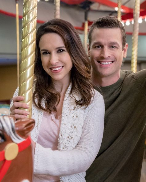 The Sweetest Christmas.The Sweetest Christmas Lacey Chabert And Damon Runyan Are