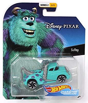 Hot Wheels Character Cars Disney Sully Vehicle Series 2 6 6 Hot Wheels Toys Hot Wheels Disney Cars
