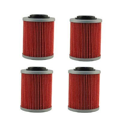 4pcs Oil Filter For Can Am Outlander 400 500 570 650 800 800r Efi Ho Dps Xt X Mr Oil Filter Can Am Oils