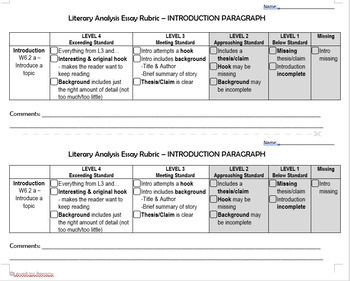Pin On Middle School Literary Analysis Essay
