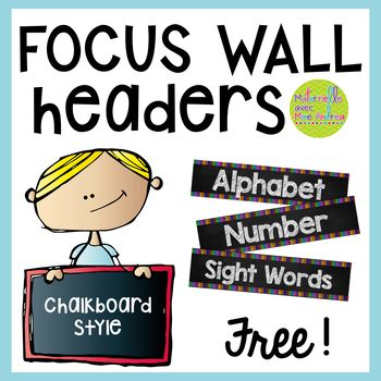 FREE Daily Focus Wall Headers - English version by Maternelle avec Mme Andrea Kindergarten Focus Walls, Math Focus Walls, Homeschool Kindergarten, Preschool Classroom, Preschool Learning, Paragraph Writing, Persuasive Writing, Writing Rubrics, Opinion Writing
