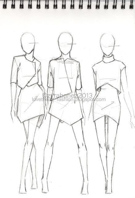 The SketchbookGreat Fashion Sketch   Great Fashion Sketch: #Fashion #great #ske