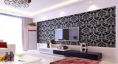 Wallpaper Dinding Info Harga Bahan Bangunan Pinterest - interior design wallpaper price list