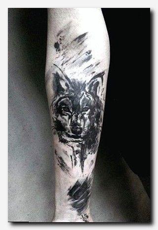 Wolftattoo Tattoo Memory Tattoo Ideas Female Back Of Neck Tattoos Male Half Sleeve Tattoos Pictures Wolf Tattoo Design Tattoo Designs Men Forearm Tattoos