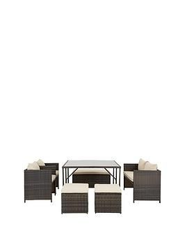 Coral Bay 8 Seater Cube Set One Colour In 2020 Outdoor Furniture Sets Cube Outdoor Decor