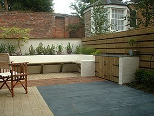 Prime Mews Courtyard Garden In York Designed For Eating And Cjindustries Chair Design For Home Cjindustriesco