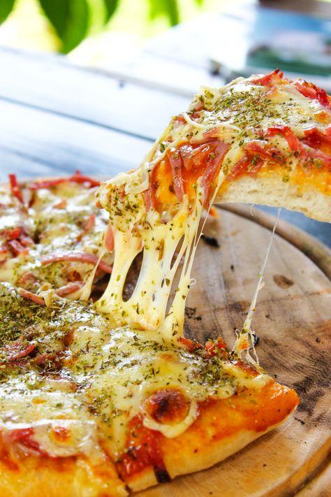12 receitas de massa de pizza rápida para uma refeição diferente