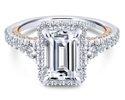 Pin On Emerald Cut Engagement Ring