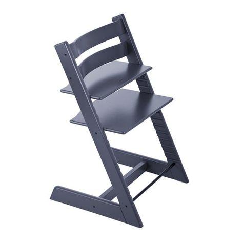 Tripp Trapp Chair Dark Blue Chaise Haute Chaise Haute Bebe