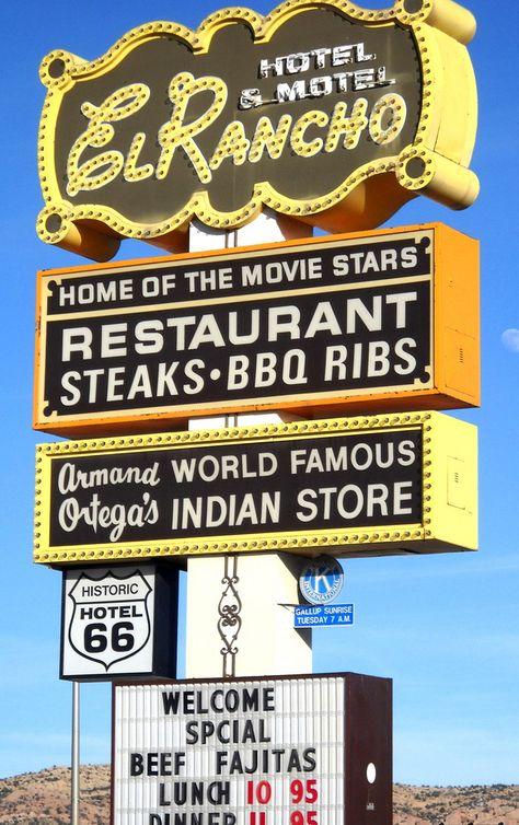 Route 66 Gallup, New Mexico
