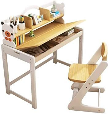 Big Shark Children Desk Kids Study Table And Chair Set Adjustable Childs Desk Student Writing De In 2020 Adjustable Table Adjustable Height Table Study Table And Chair