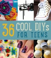 Cool DIY Projects For Teens and Craft Ideas for Teenagers #DIYReady | diyready.com