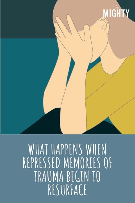 What Happens When Repressed Memories of Trauma Begin to Resurface