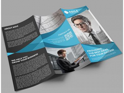 Creative Corporate Tri Fold Brochure Vol   Tri Fold Brochure