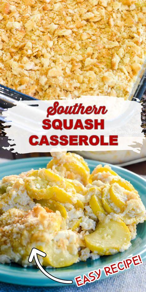How To Make Squash Casserole