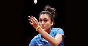 Manika Batra In Performance Table Tennis Technology Fashion Badminton