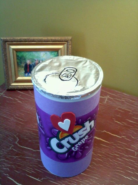 Soda Can Valentine Box