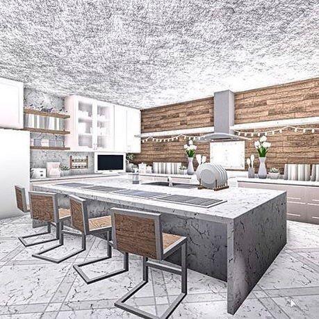 Bloxburg Kitchen Home Building Design Luxury House Plans House Design Kitchen
