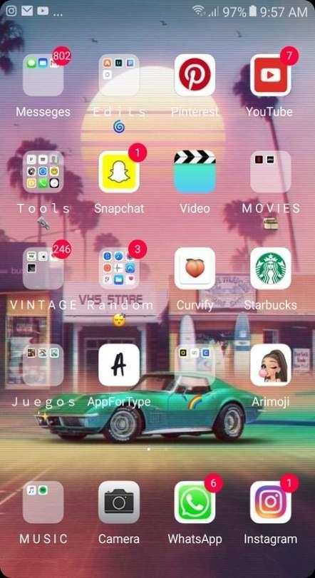 Super Home Screen Huawei Ideas Homescreen Phone Organization Iphone Organization