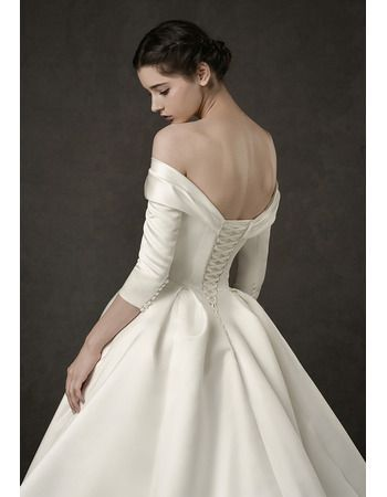 Pin By Daphne Poblador On Long Wedding Dresses In 2020 Wedding Dresses Satin Ball Gowns Wedding Amazing Wedding Dress