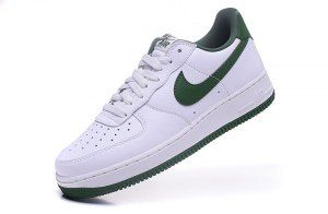 Wholesale Nike Air Force 1 Low Retro Summit White Forest Green 845053 101 Men's Casual Shoes Sneakers