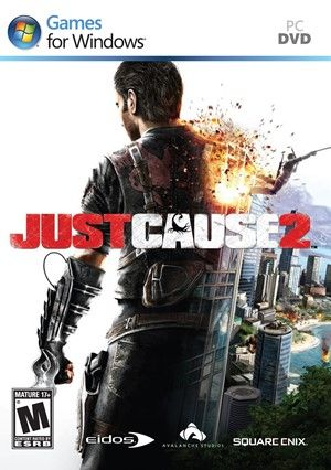 2 Just Cause Just Cause 2 Xbox 360 Xbox