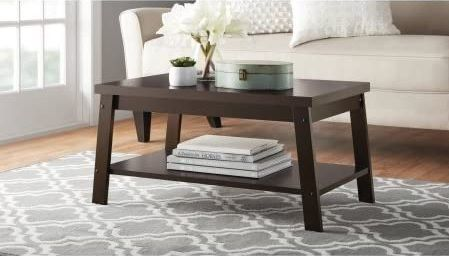 Mainstays Logan Coffee Table Espresso In 2020 Coffee Table Living Room Coffee Table Coffee Tables For Sale