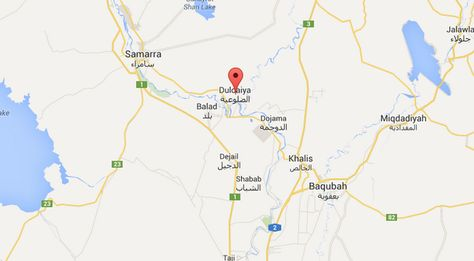 منظمة الصحة العالمية تغيث 5000 عراقي في الضلوعية Map Map