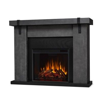 Real Flame Aspen Indoor Electric Fireplace Gray In 2020 Electric Fireplace Indoor Electric Fireplace Free Standing Electric Fireplace