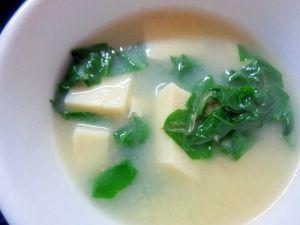 高野 豆腐 小松菜