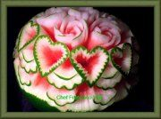 Carving, fruit carving, vegetable carving, Soap Carving,